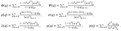 Ramanujan's sixth order mock theta functions
