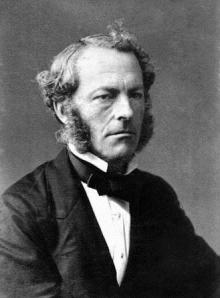 George Gabriel Stokes (1819–1903),  mathematician and physicist, born in Skreen, Ireland. Stokes was Lucasian Professor of Mathematics in Cambridge from 1849 until 1903.