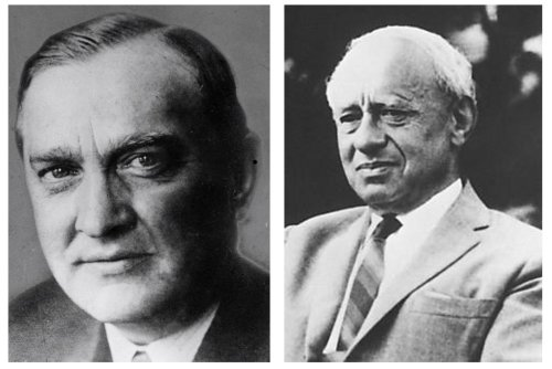 Stefan Banach (1892–1945), Polish mathematician (left) and Alfred Tarski (1901-1983), Polish logician (right).