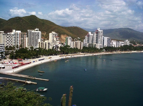 Santa Marta, Colombia, where the 54th IMO is to be held, July 18-28, 2013.