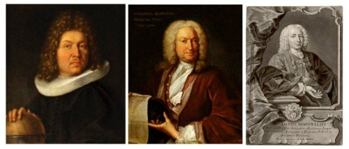 Jakob  (1654–1705),  Johann  (1667-1748) and Daniel Bernoulli (1700–1782).