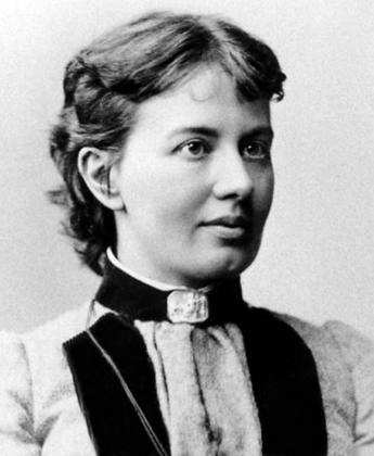 Sofia Kovalevskaya in 1880 [image from Wikimedia Commons]