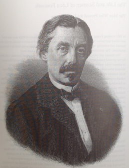 Leon Foucault (1819 - 1868) in 1867, aged forty-seven.