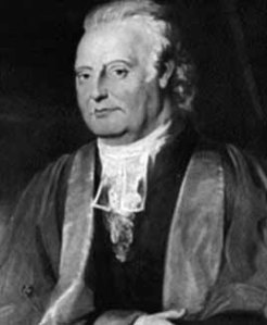 Edward Waring (1736 –1798). Image: MacTutor History of Mathematics archive.}