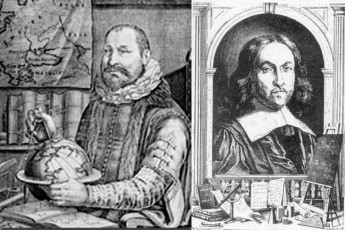 Left: Albert Girard (1595-1632). Right: Pierre de Fermat (1601-1665)