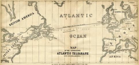 Atlantic-Telegraph-Map
