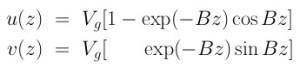 EkmanSpiralEquation