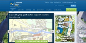 OSi Home page with link to interactive map.