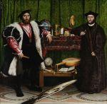 Double Portrait of Jean de Dinteville and Georges de Selve (