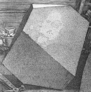 Melencolia I (B. 74; M., HOLL. 75) *engraving *24 x 18.8 cm *1514