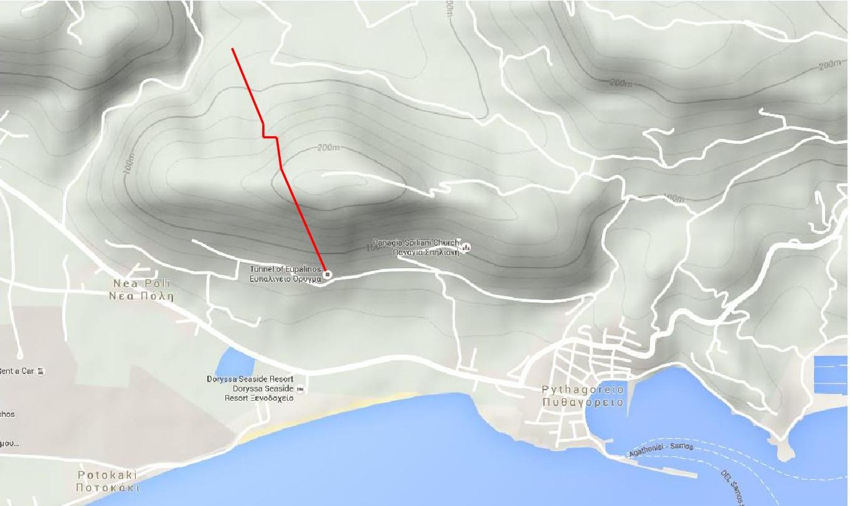 Samos-Tunnel-Map