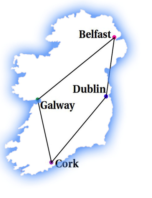 IrelandProvincialCapitalsMap