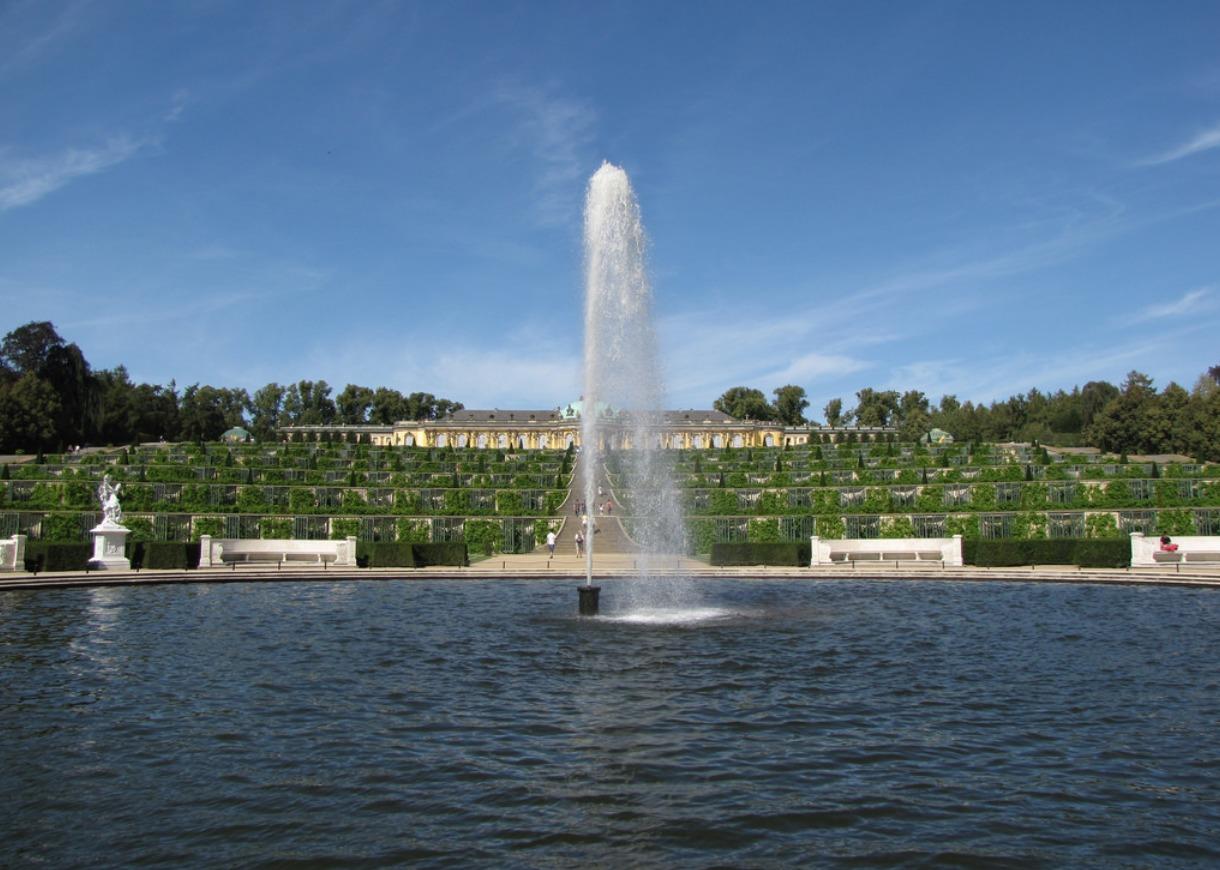 Sanssouci-Fountain