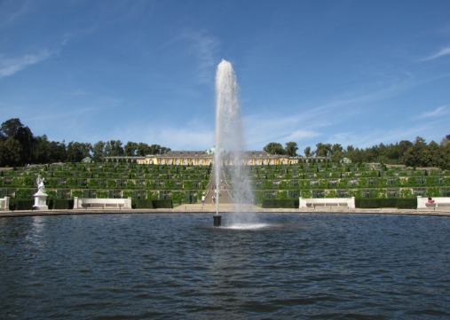 Sanssouci-Fountain
