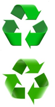 Recycling-Symbol-Column