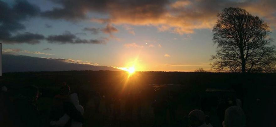 Sunrise-Newgrange