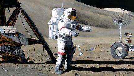 Apollo15-HammerFeather