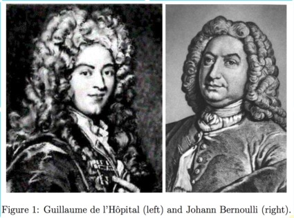 LHopital-Bernoulli