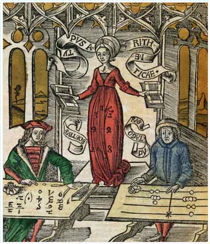 Arithmetica-Woodcut