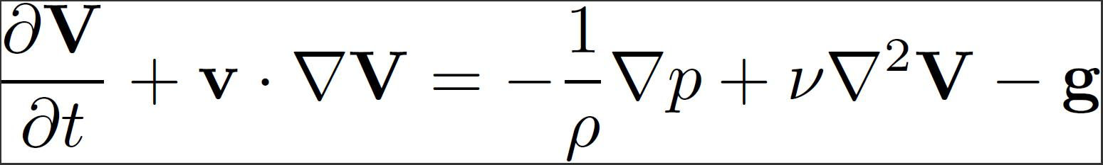 Navier-Stokes-Equations