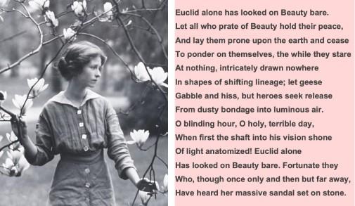 Edna-StV-Millay+Poem