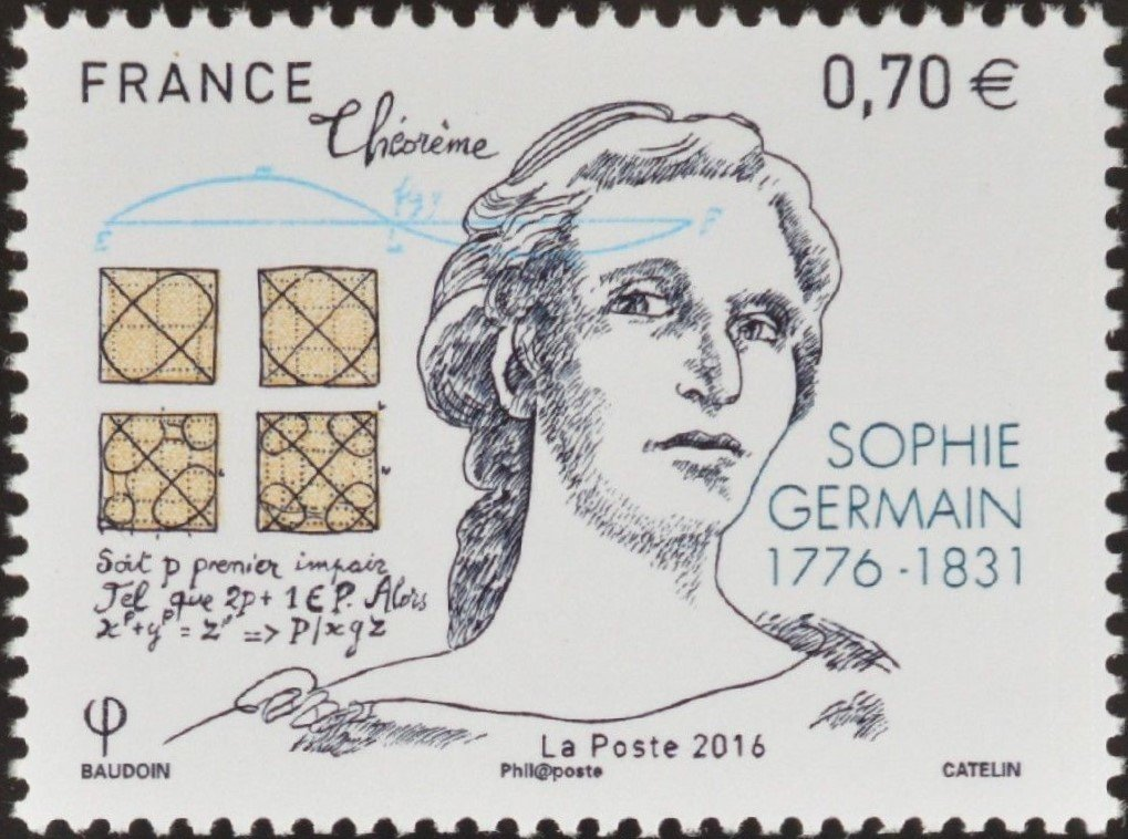 Sophie-Germain-Stamp